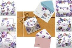 Rose Garden JPG watercolor set Product Image 5