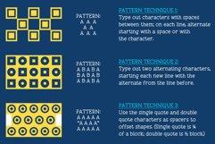 GeoBlocks - a geometric font set of blocks and shapes! Product Image 9