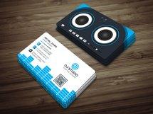 DJ Studio Business Card Product Image 2