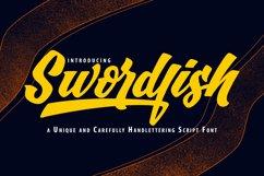 SwordFish | Unique Handlettering Script Font Product Image 1