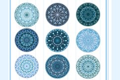 Mandalas in a round and diamond shape Product Image 3
