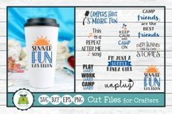 Summer Fun Design Bundle, SVG Cut Files for Crafters Product Image 1