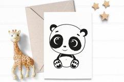 Cute baby panda SVG, PNG, EPS Product Image 3