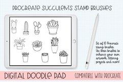 Procreate Succulents Brushes - Set of 10 Product Image 1