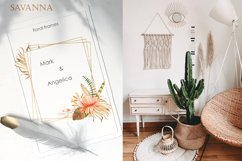 Savanna dried flowers and leaves Watercolor Product Image 4