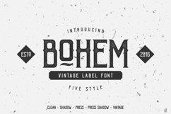Bohem Typeface - 5 Font Styles Product Image 1