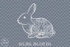 Easter Bunny Mandala Lotus Product Image 2
