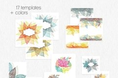 Leaves and pumpkins kit EPS Product Image 6