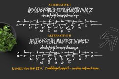 Skytree Script Brush Font Product Image 5