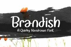 Web Font Brandish - Quirky Handrawn Font Product Image 1