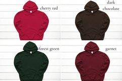 Hoodie Mockup Bundle Gildan 18500 Basic hoodie mockups Product Image 3