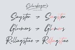 Schrödinger's | Signature Font Product Image 5