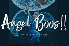 Angel Boos - Handlettered Font Product Image 1