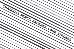 Pencil Charcoal Illustrator Brushes Product Image 5