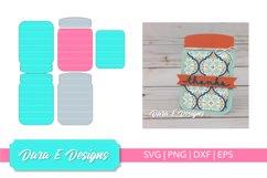 Mason Jar Card SVG | Card SVG | Card Making SVG Product Image 1