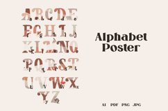 Baby Alphabet Poster, ABC Poster, Printable Wall Art Product Image 2
