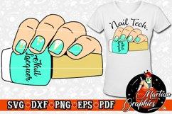 Nail Polish Cut File - A Cosmetology/Nail Technician Design Product Image 2
