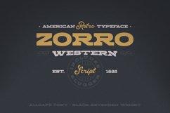 Zorro Font Duo Product Image 1