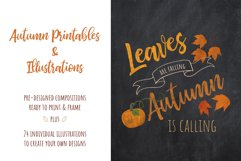 Autumn Printables & Illustrations Product Image 1