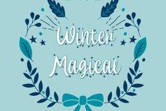 Hallo White - Christmas Font Product Image 3