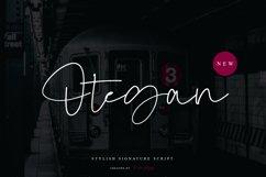 Otegan - Stylish Signature Script Product Image 1