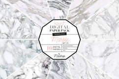 """Seamless Digital Paper """"Marble"""" Set 01 Product Image 1"""