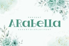 Arabella - Luxury Display Font Product Image 1