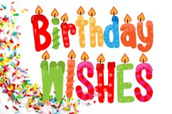 Birthday SVG Font Duo Product Image 1