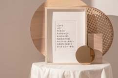 Fruit Of The Spirit, Scripture Wall Print, Love Wall Print Product Image 2