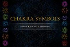 Chakra Symbols and Patterns Vector Product Image 2