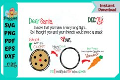 Dear Santa Placemat Product Image 4