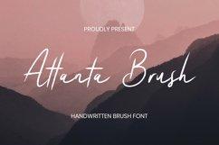 Web Font Atlantabrush Font Product Image 1