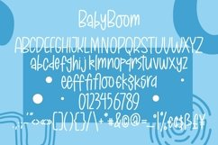 Web Font BabyBoom - Fancy Font Product Image 4