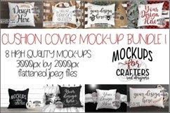 CUSHION COVER MOCK-UP Bundle #1 - EIGHT MOCK-UPS Product Image 1