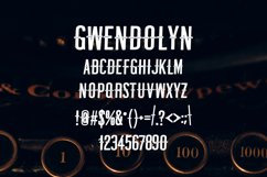 Gwendolin Vintage Font Product Image 2