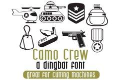 DB Camo Crew Product Image 1