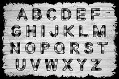 Basic Buffalo Plaid Patterned Font Product Image 2