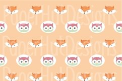 Fox and Owl Digital Papers Product Image 5