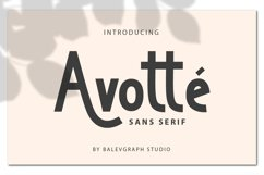 Avotte San Serif Product Image 1