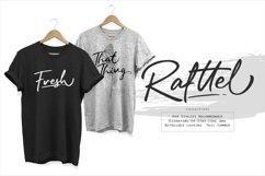 Rafttel Script Font Product Image 5