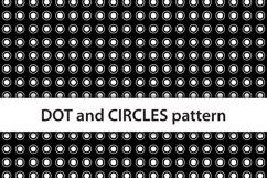 Basic digital paper seamless pattern polka dots and circles Product Image 2