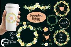 Summertime Wedding graphics, clipart, illustration AMB-1309 Product Image 1