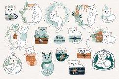 Christmas Art illustration, Nursery art Product Image 3