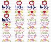 Teacher Sentiments - SVG, Clipart Printables - 39 Designs Product Image 3