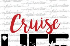 Cruise Life SVG, DXF, PNG Product Image 3