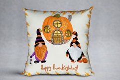Gnomes clipart Thanksgiving clipart Halloween Kids clipart Product Image 5