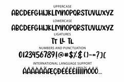 Web Font Trendsetter - a unicase craft font | Two styles Product Image 2