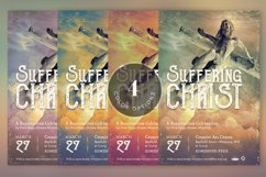 Christ Suffering Flyer Template Product Image 6