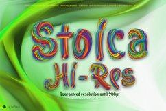 Stoica - Bitmat SVG Color Font Product Image 1