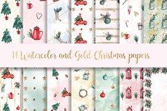 Christmas BUNDLE digital paper pattern Product Image 3